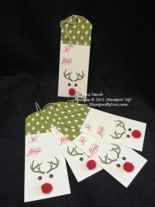 Rudolph Tags