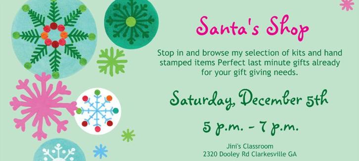 Santa's Shop banner image