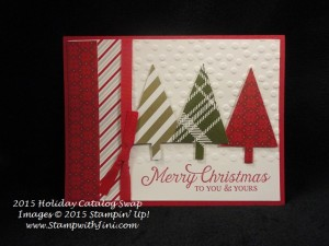 Six Sayings SC Holiday Catalog Swap 2015