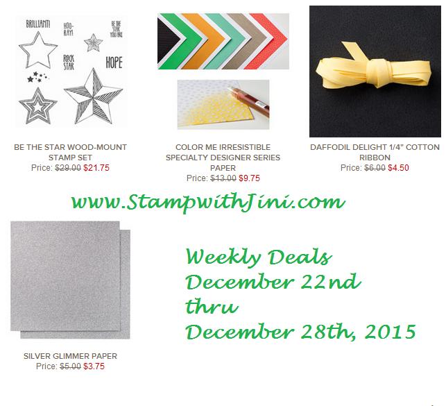 Weekly Deals December 22 2015