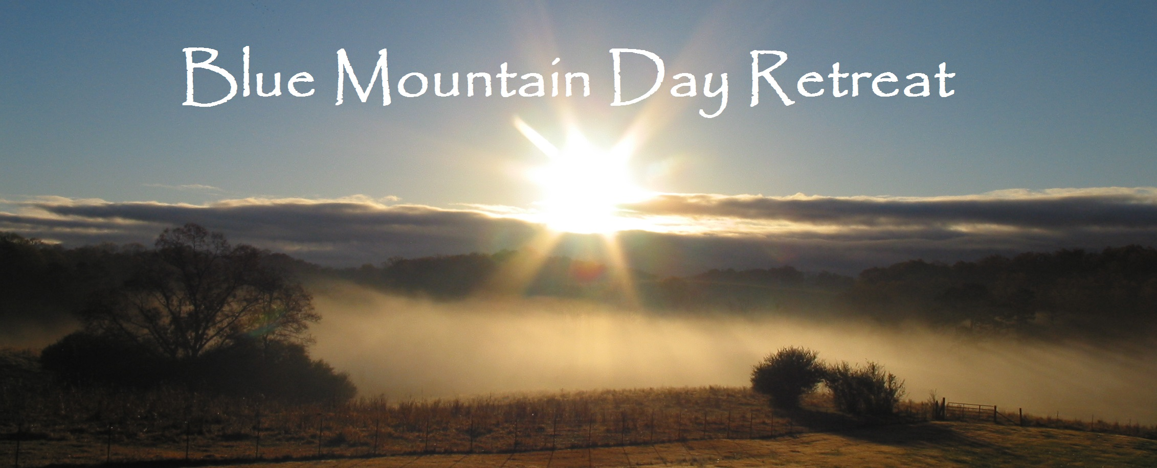 Blue Mountain Day Retreat Image