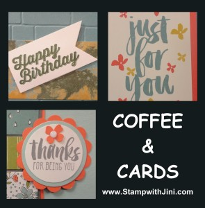 Coffee & Cards image March 2016