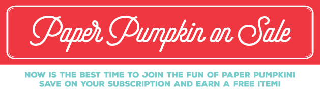 Paper Pumpkin on Sale banner image