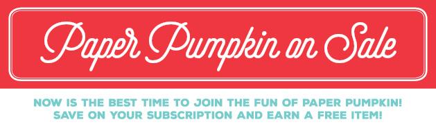 Paper Pumpkin on Sale banner image