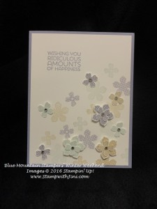 Petite Petals BMS Winter Weekend Shoebox Swap 2016