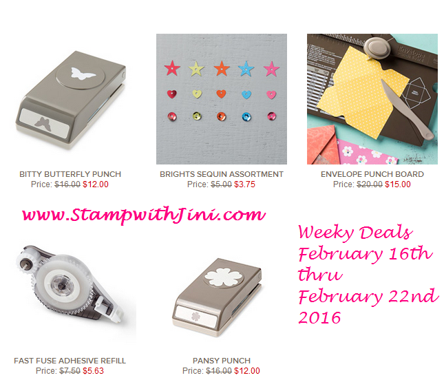 Weekly Deals February 16 2016