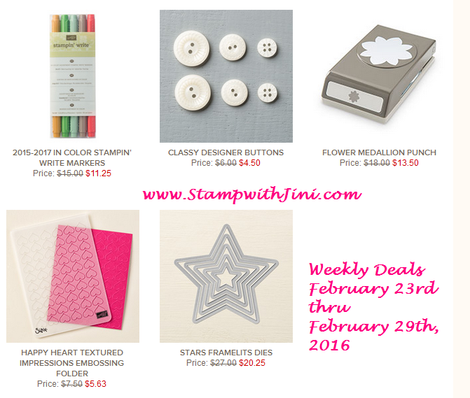 Weekly Deals February 23 2016
