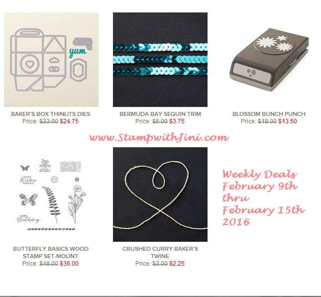 Weekly Deals February 9 2016