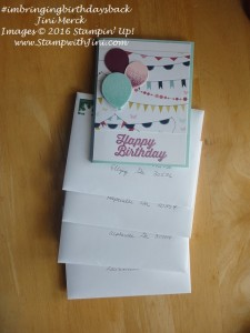 #imbringingbirthdays back cards