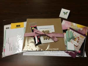 Spring Day Retreat Goodie Bag