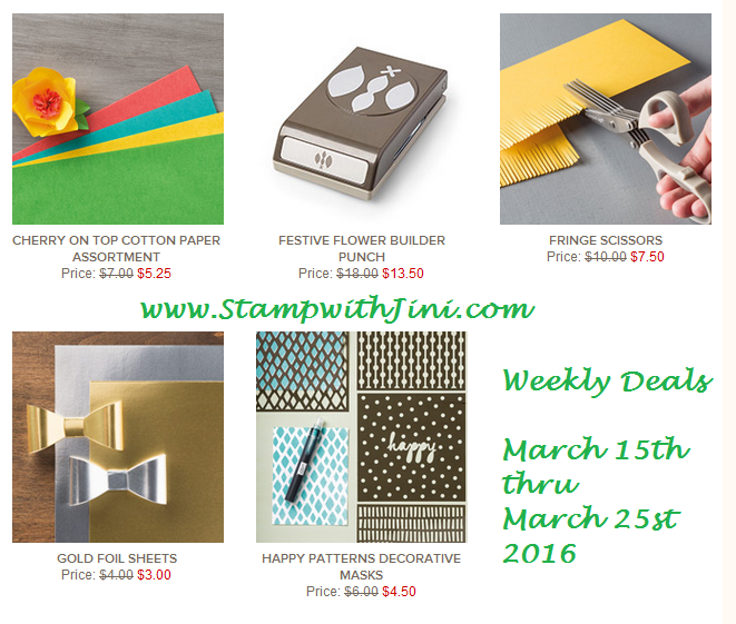 Weekly Deals March 15 2016