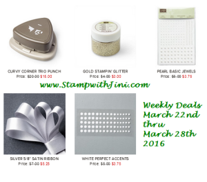 Weekly Deals March 22 2016