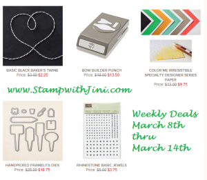 Weekly Deals March 8 2016