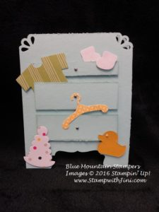 Baby's First Framelits April Team Swap 2016