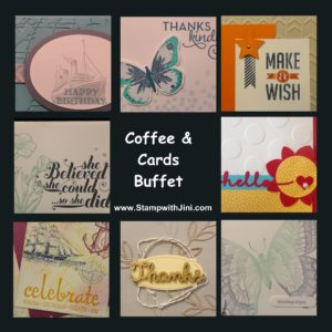Last Chance Coffee & Cards Buffet May 2016 image