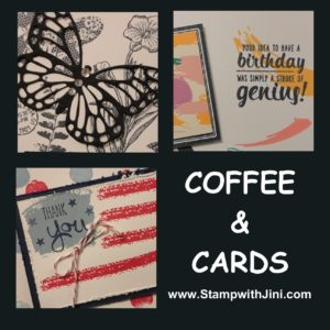 Coffee & Cards image June 2016