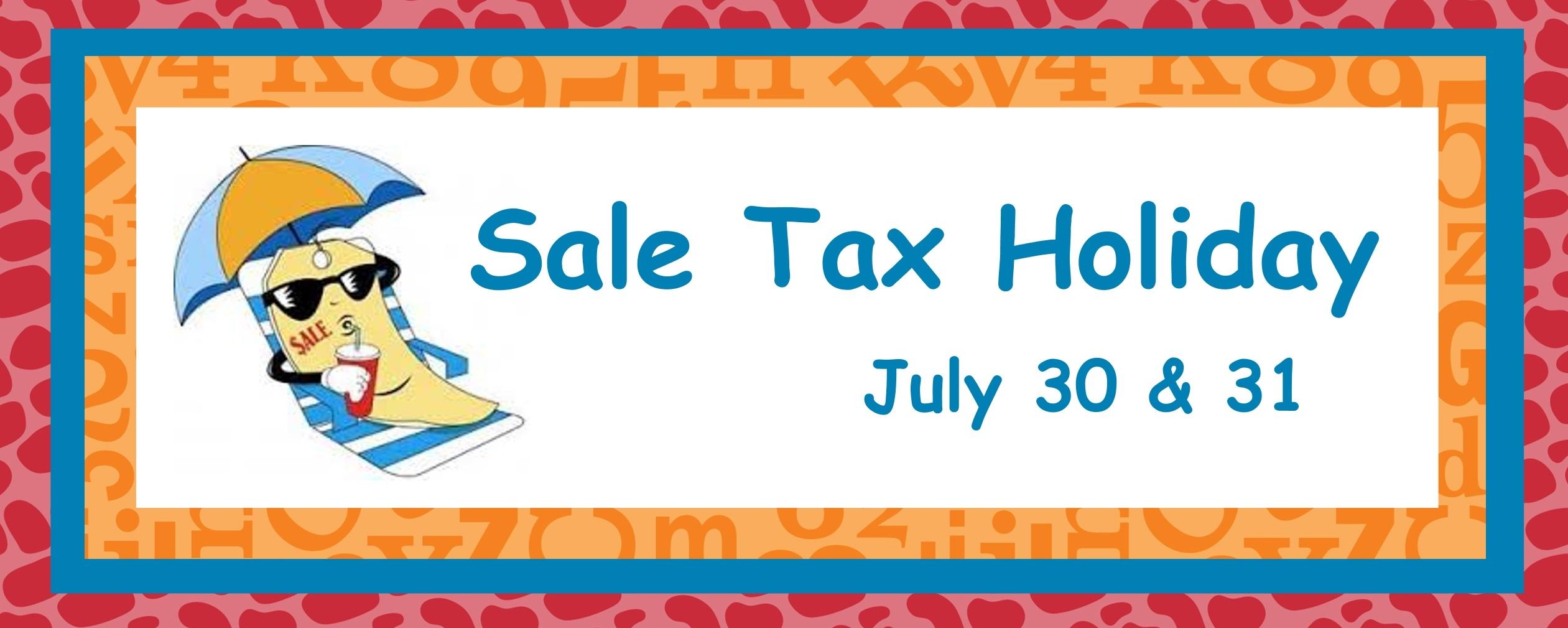 Tax Free 2016 banner