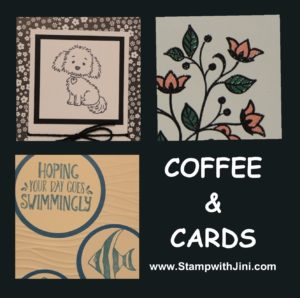 Coffee & Cards image August 2016