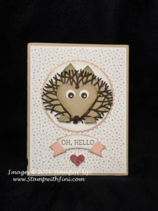 Thoughtful Branches Hedgehog