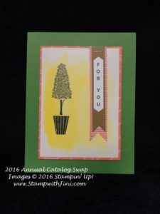Vertical Greetings SC Annual Swap 2016