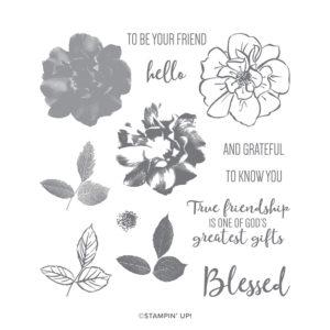 To A Wild Rose Stamp Set image