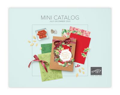 2021 July - December Mini  Catalog